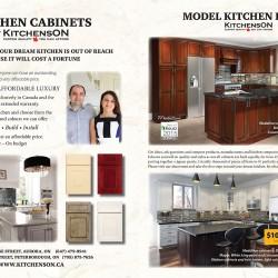 Model kitchens