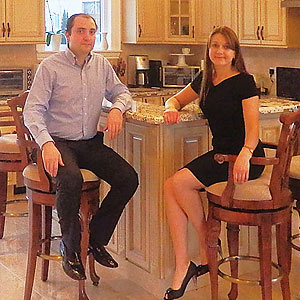 Kitchen cabinets, custom kitchen design, installation