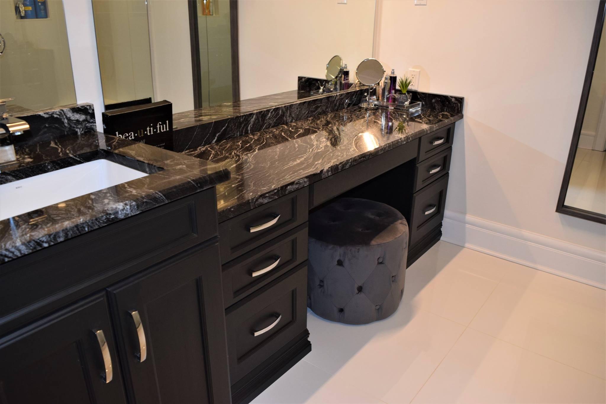 """Luxor"" custom cabinets in ""Night Shade"" finish - Kitchens ..."